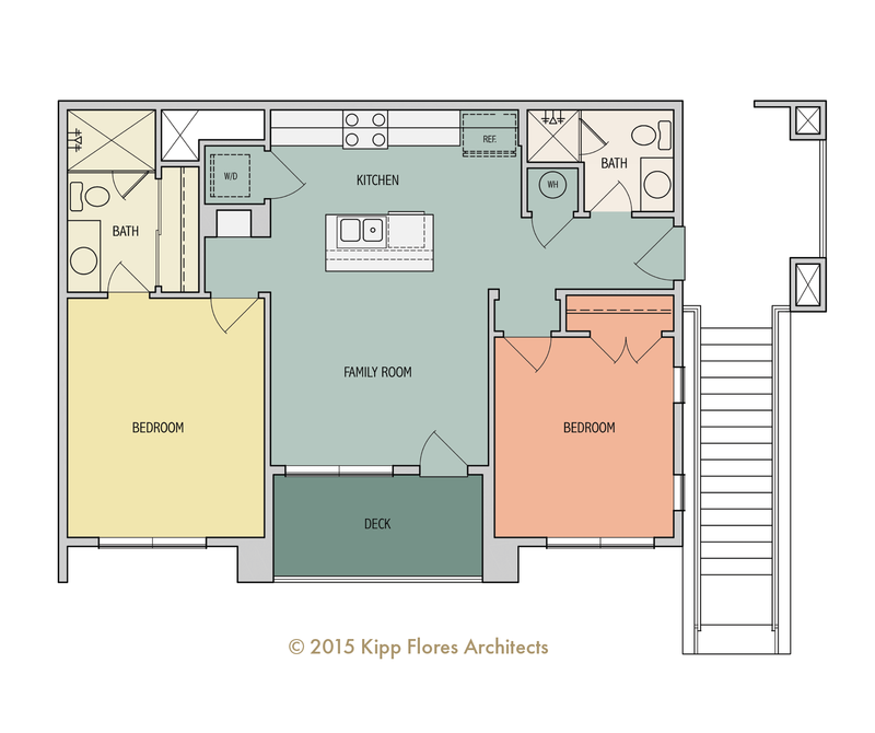 Fir Floorplan - 2B