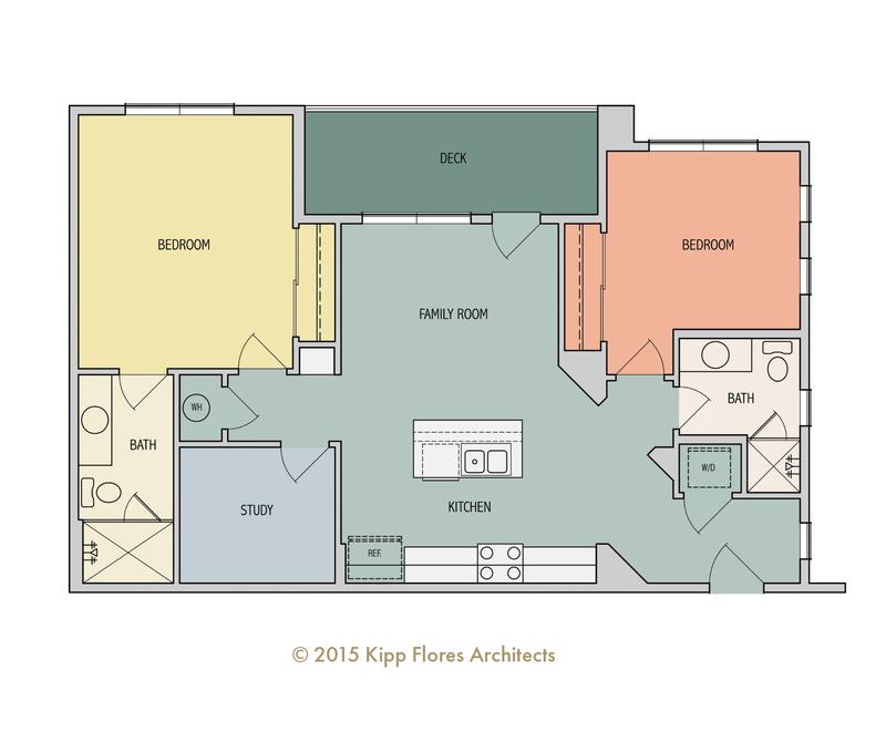 Pecan Floorplan - 2D